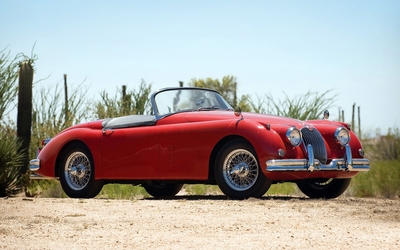 Jaguar XK150 wallpaper