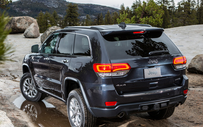 Jeep Grand Cherokee Limited wallpaper