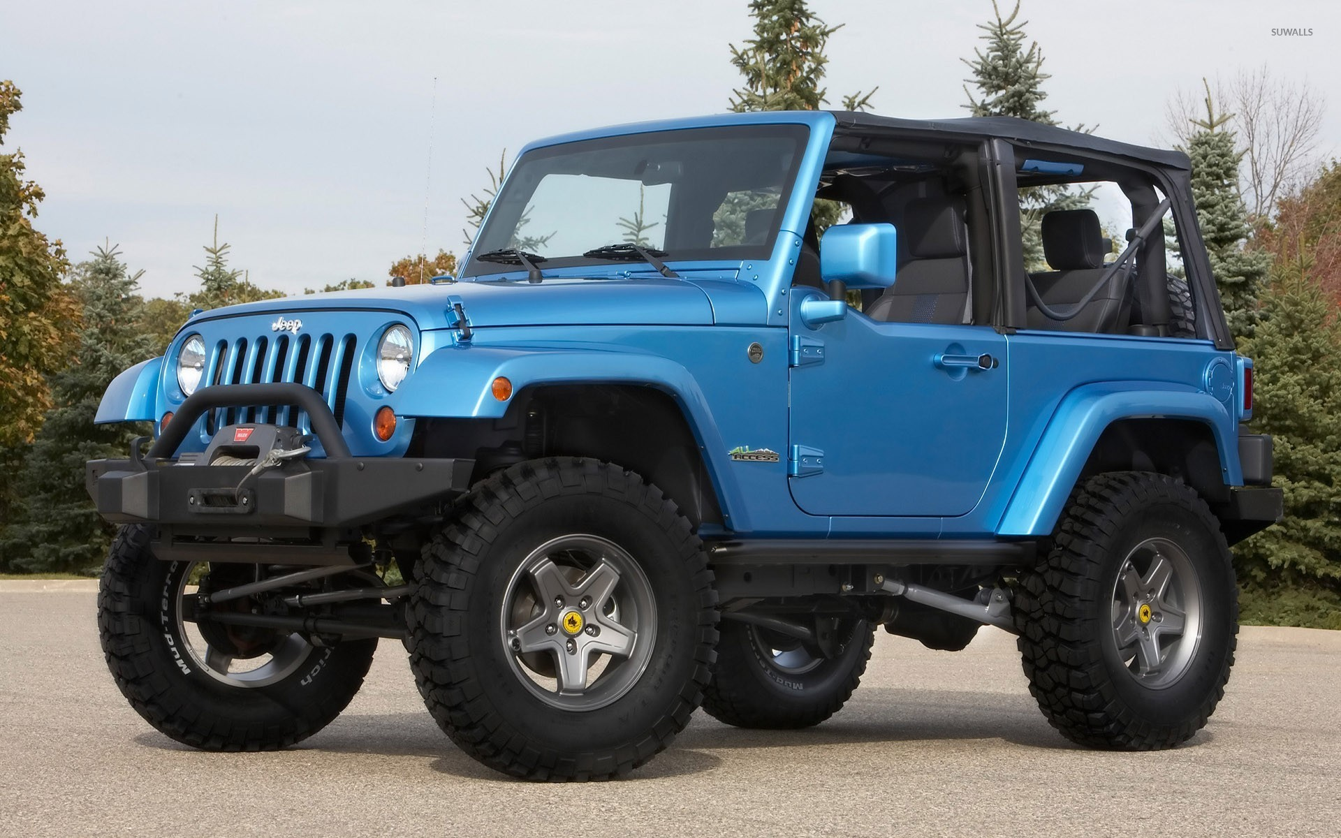 Jeep Wrangler All Access Wallpaper