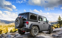 Jeep Wrangler Rubicon back view wallpaper 2560x1600 jpg