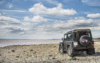 Kahn Land Rover Defender back view wallpaper 2560x1600 jpg