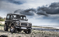 Kahn Land Rover Defender front view wallpaper 2560x1600 jpg
