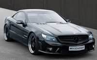 Kicherer Mercedes-Benz SL-Class front side view wallpaper 1920x1200 jpg