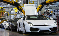 Lamborghini Assembly Line wallpaper 1920x1080 jpg