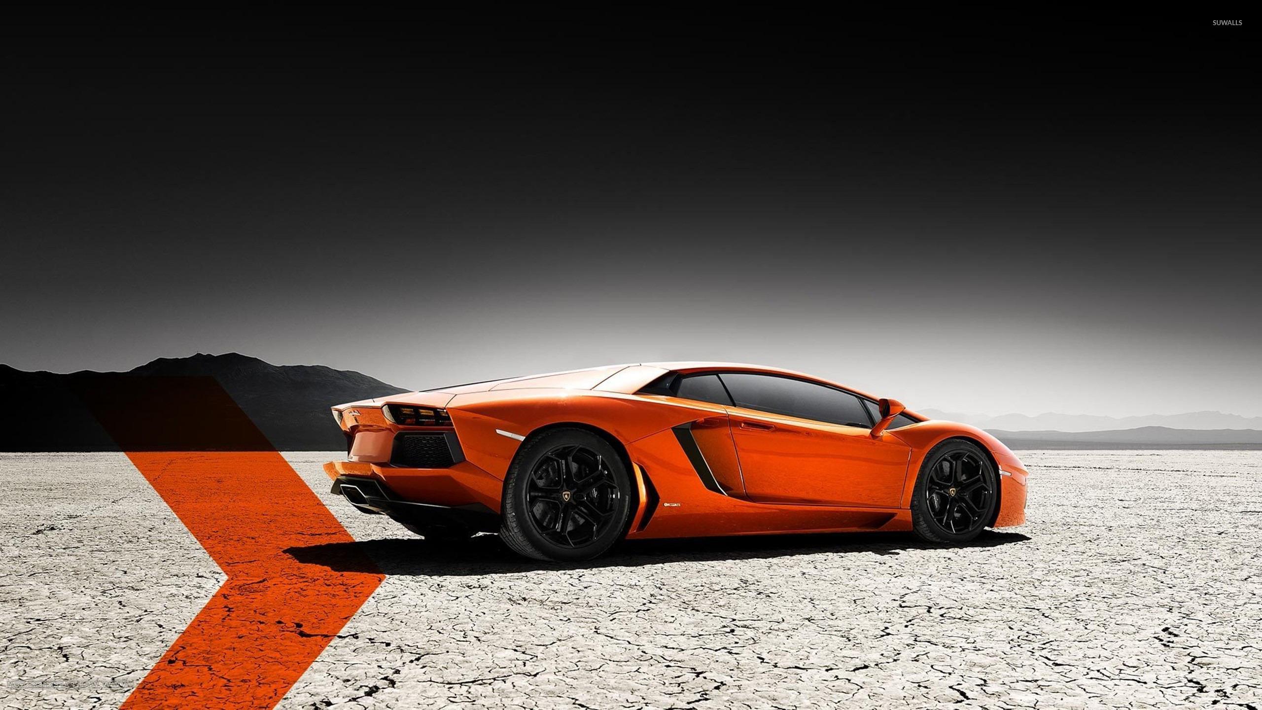 Lamborghini Aventador [2] Wallpaper