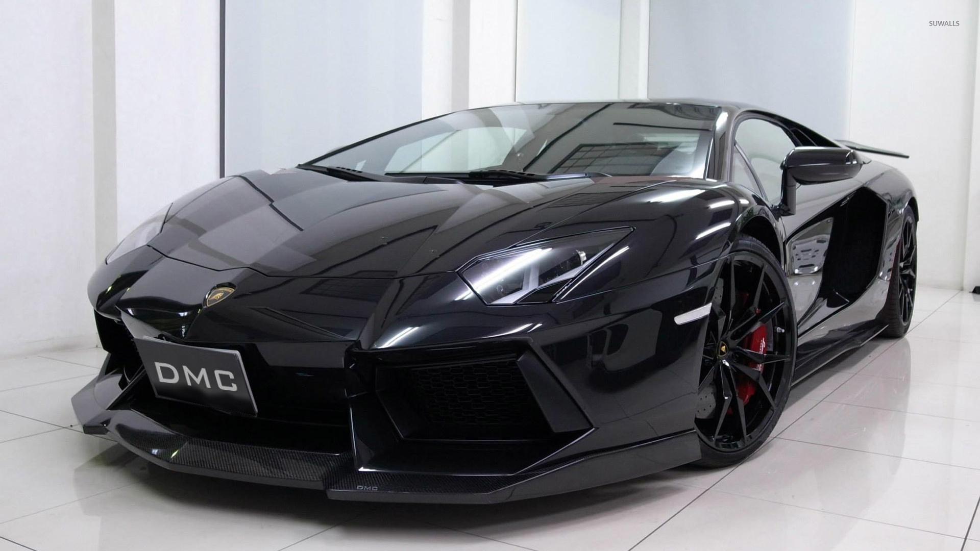 lamborghini aventador 16 wallpaper - Lamborghini Aventador 2015 Black