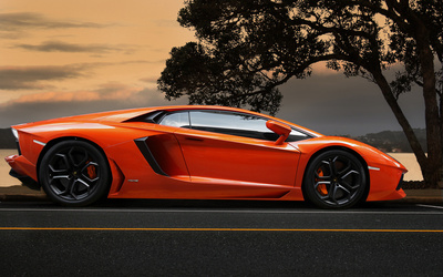 Lamborghini Aventador LP 700-4 [2] wallpaper