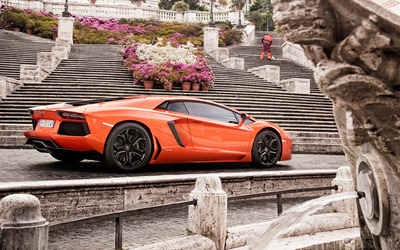 Lamborghini Aventador LP700-4 [5] wallpaper