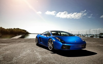 Lamborghini Gallardo LP560-4 wallpaper