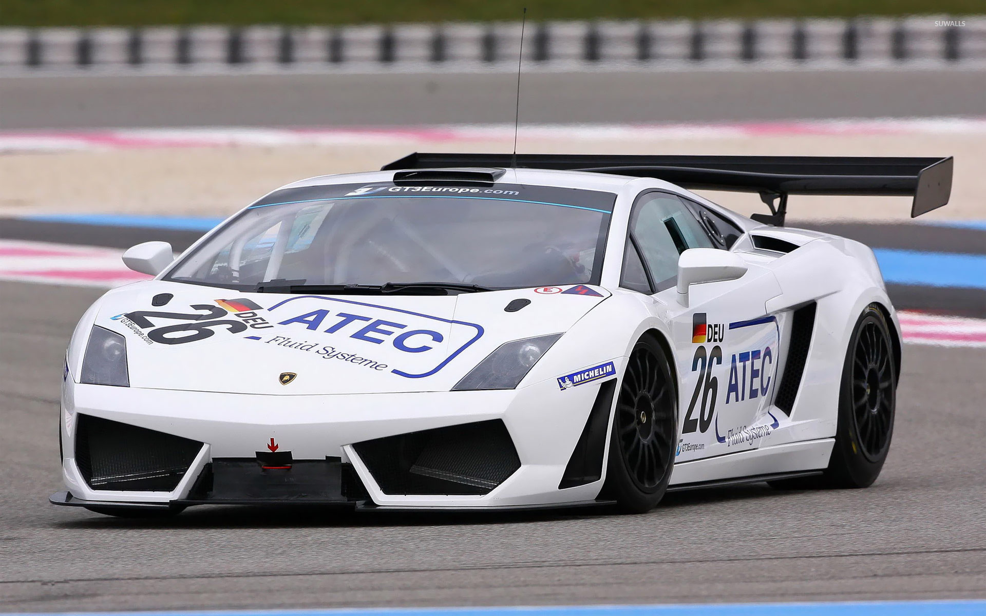 Lamborghini Gallardo LP560 4 GT3 Wallpaper