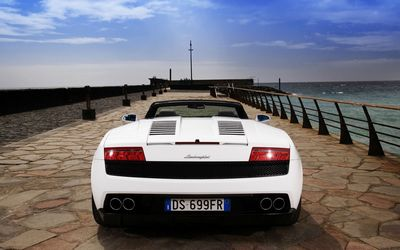 Lamborghini Gallardo LP560-4 Spyder wallpaper