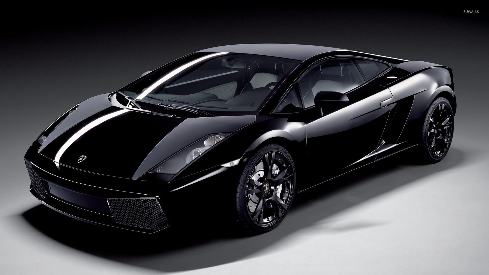 lamborghini gallardo nera wallpaper 1920x1080 jpg - Lamborghini Gallardo Superleggera Wallpaper