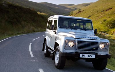 Land Rover Defender [2] wallpaper