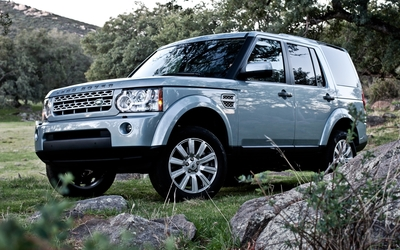 Land Rover Discovery [4] Wallpaper