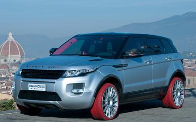 Land Rover Range Rover Evoque HFI-R wallpaper