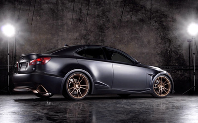 Lexus IS F Five Axis Project wallpaper