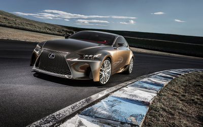Lexus LF wallpaper