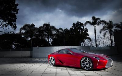 Lexus LF-LC Hybrid wallpaper