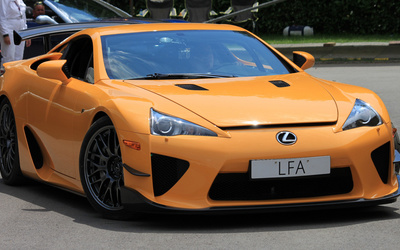 Lexus LFA [7] wallpaper