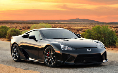 Lexus LFA [4] wallpaper