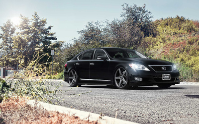 Lexus LS [3] wallpaper