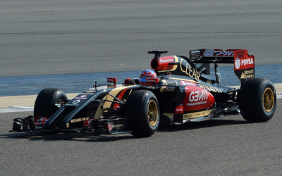 Lotus E22 [2] wallpaper