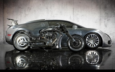 Mansory bike and car wallpaper