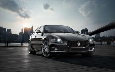 Maserati Quattroporte V wallpaper