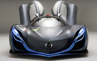 Mazda Furai front side view with opened doors wallpaper 1920x1200 jpg