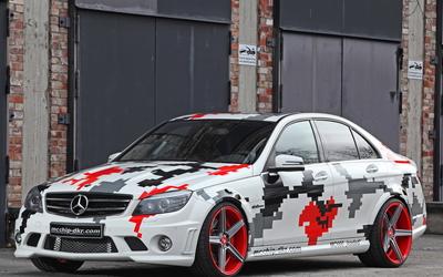 Mcchip-DKR Mercedes-Benz C-Class wallpaper