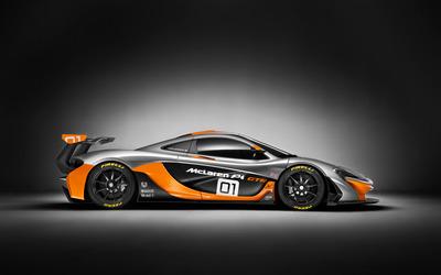 McLaren P1 GTR [5] wallpaper