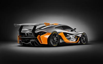 McLaren P1 GTR [3] wallpaper