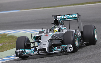 Mercedes AMG Petronas [3] wallpaper