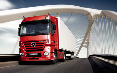 Mercedes-Benz Actros wallpaper