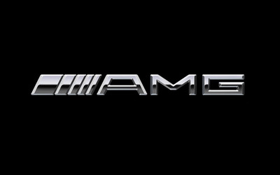 Mercedes-Benz AMG logo wallpaper