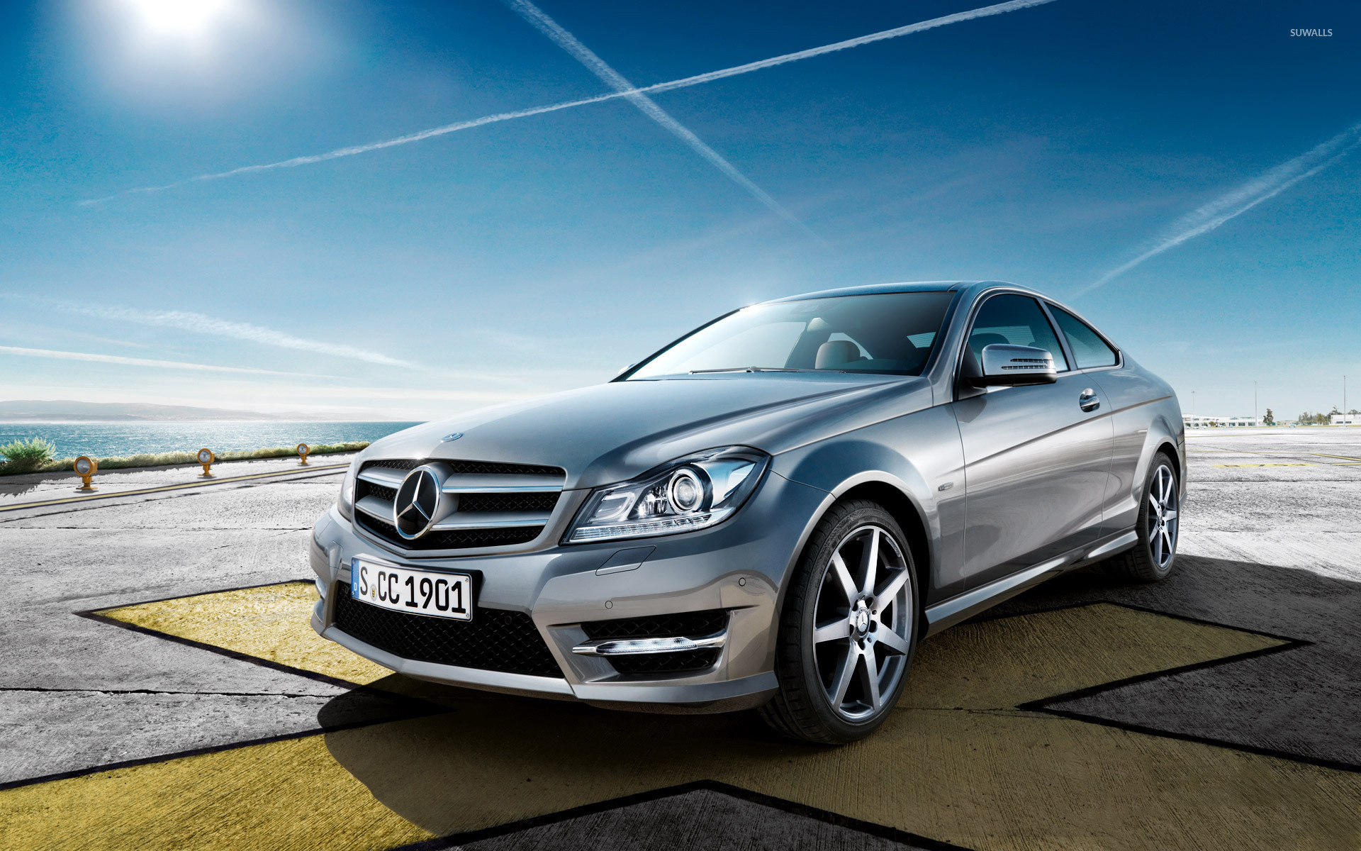 mercedes-benz c-class wallpaper - car wallpapers - #46422