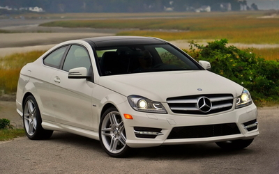 Mercedes-Benz C-Class Coupe wallpaper