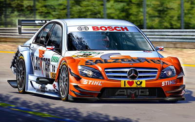 Mercedes-Benz C-Classe racing wallpaper