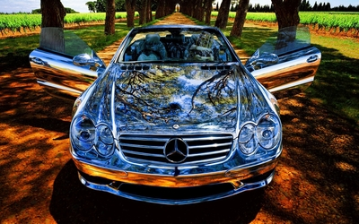 Mercedes-Benz C200 wallpaper