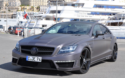 Mercedes-Benz CL-Class CLS63  AMG wallpaper
