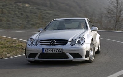 Mercedes-Benz CLK63 AMG wallpaper