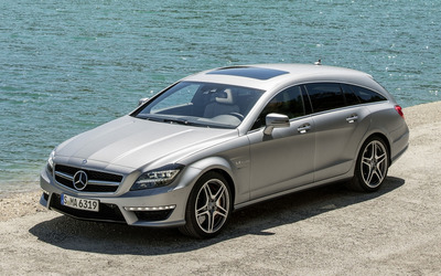 Mercedes-Benz CLS Shooting Brake wallpaper