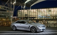 Mercedes-Benz CLS-Class front side view wallpaper 1920x1200 jpg