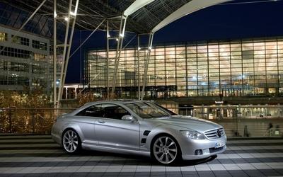 Mercedes-Benz CLS-Class front side view wallpaper