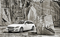 Mercedes-Benz CLS-Class Shooting Brake [3] wallpaper 1920x1200 jpg