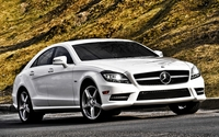Mercedes-Benz CLS550 wallpaper 1920x1200 jpg