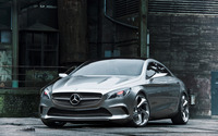 Mercedes-Benz Concept Style Coupe wallpaper 1920x1200 jpg