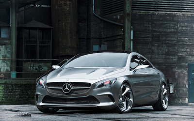 Mercedes-Benz Concept Style Coupe wallpaper