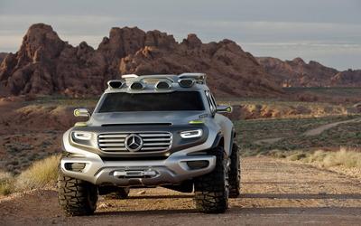 Mercedes-Benz Ener-G-Force Concept [2] wallpaper