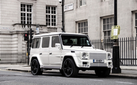 Mercedes-Benz G-Class on the street wallpaper 2560x1600 jpg